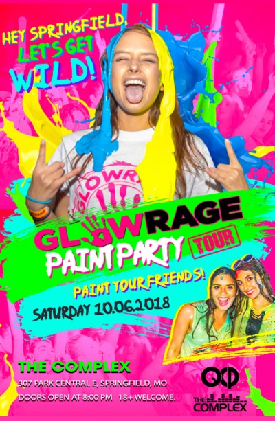 GlowRage Paint Party
